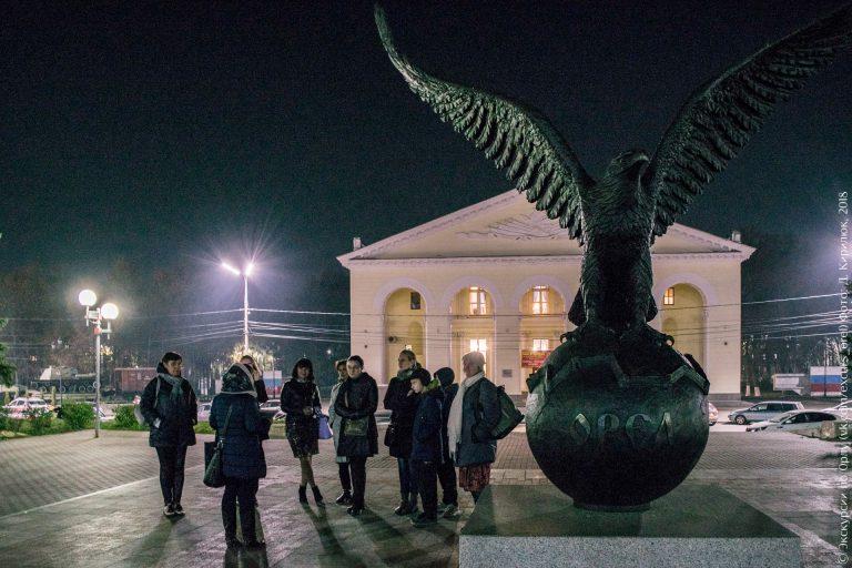 Орел на шаре, ДК ЖД города Орла