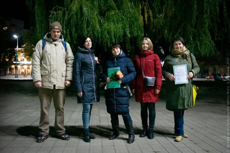 Выпускники школы экскурсоводов в Орле